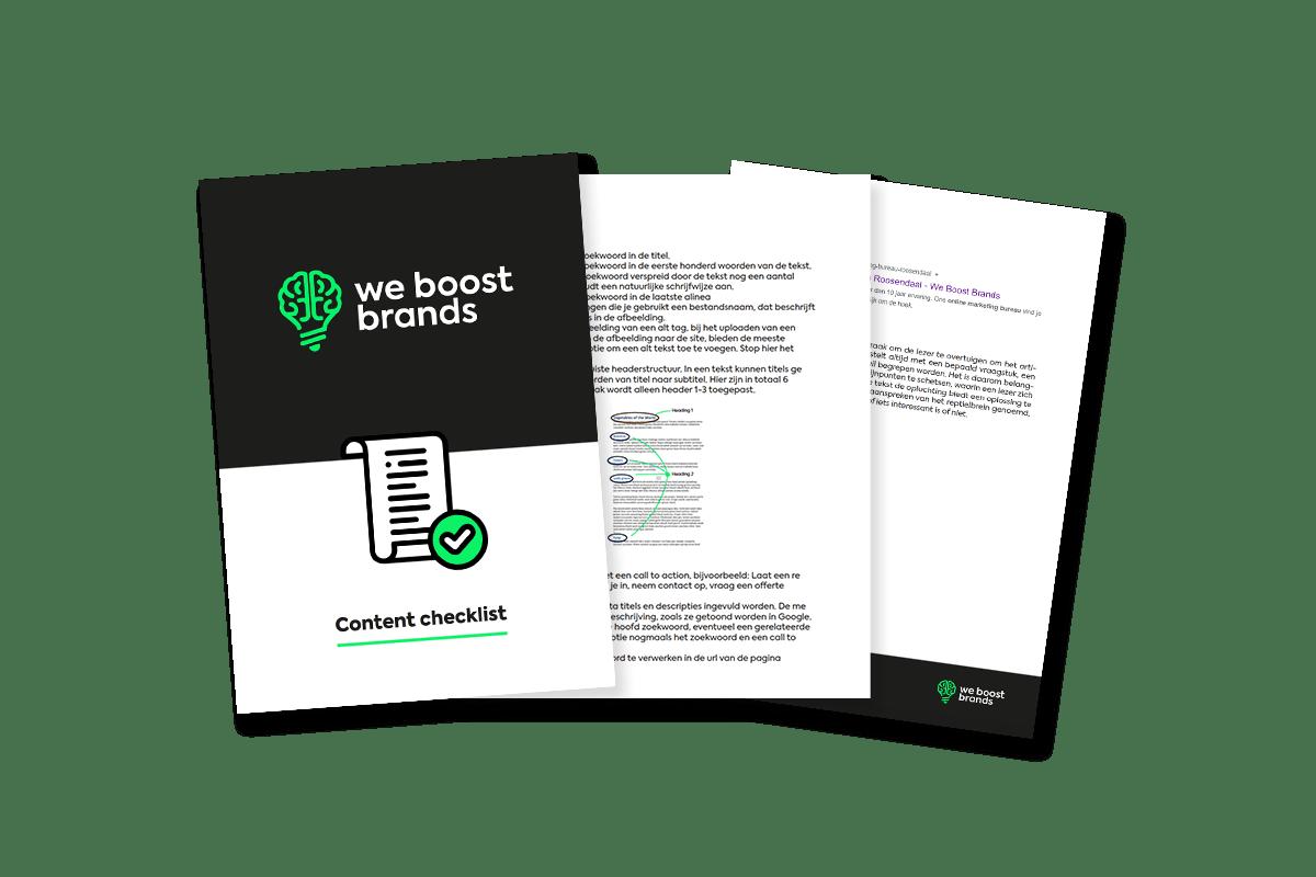 content-checklist